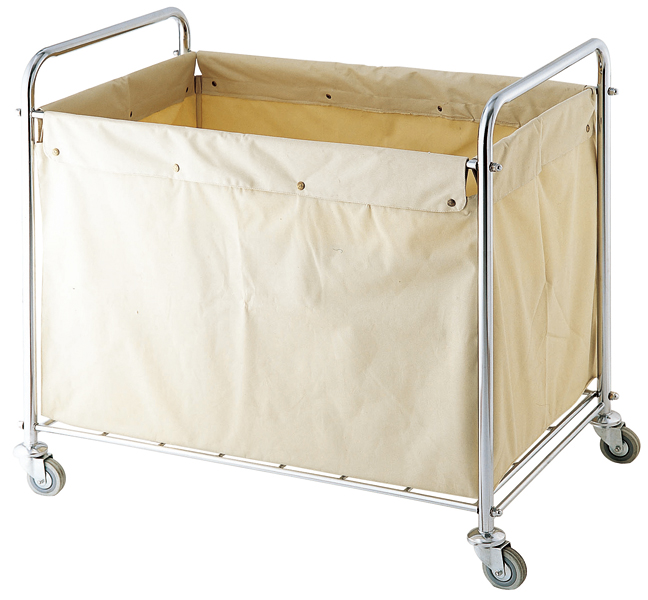 SS Loundry Linen Trolley