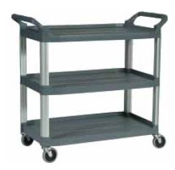 Polymer 3 Tier Service Trolley